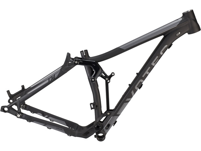 "VOTEC VM All Mountain Fully Frame Kit 27,5"" ano. black matt/dark grey glossy"